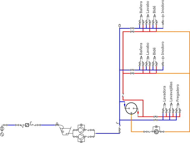 Manual tekton3d 3 2 instalaci n de suministro de agua - Como hacer una instalacion de fontaneria ...