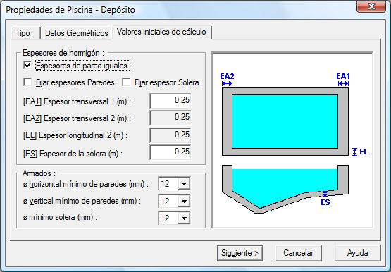 Imventa ingenieros software t cnico para ingenier a y for Materiales para construccion de piscinas