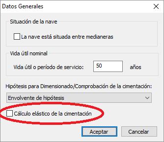 Datos Generales + Calculo Elastico