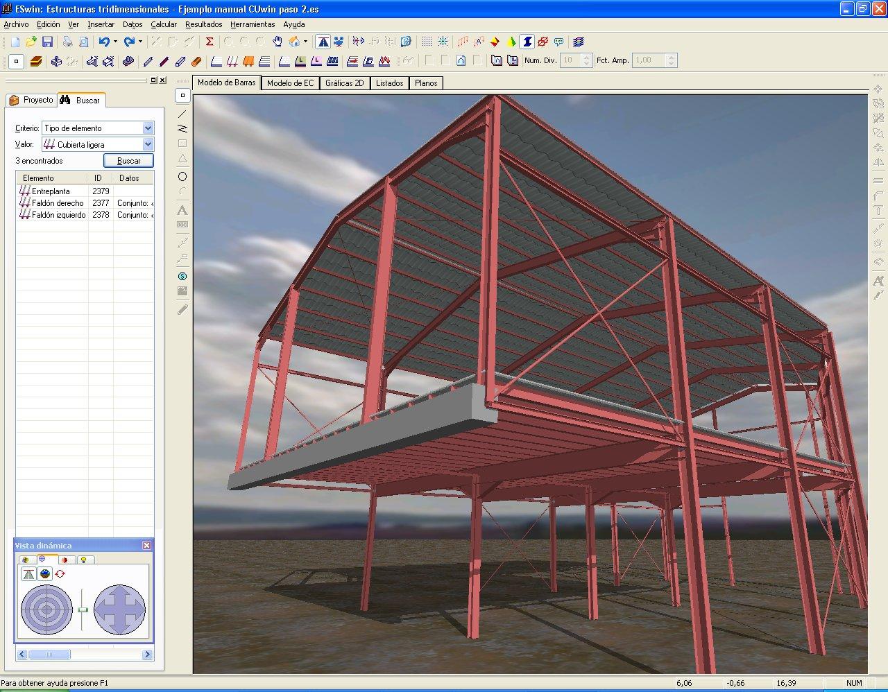 Imventa ingenieros software t cnico para ingenier a y arquitectura eswin paquete de - Estructuras metalicas ligeras ...