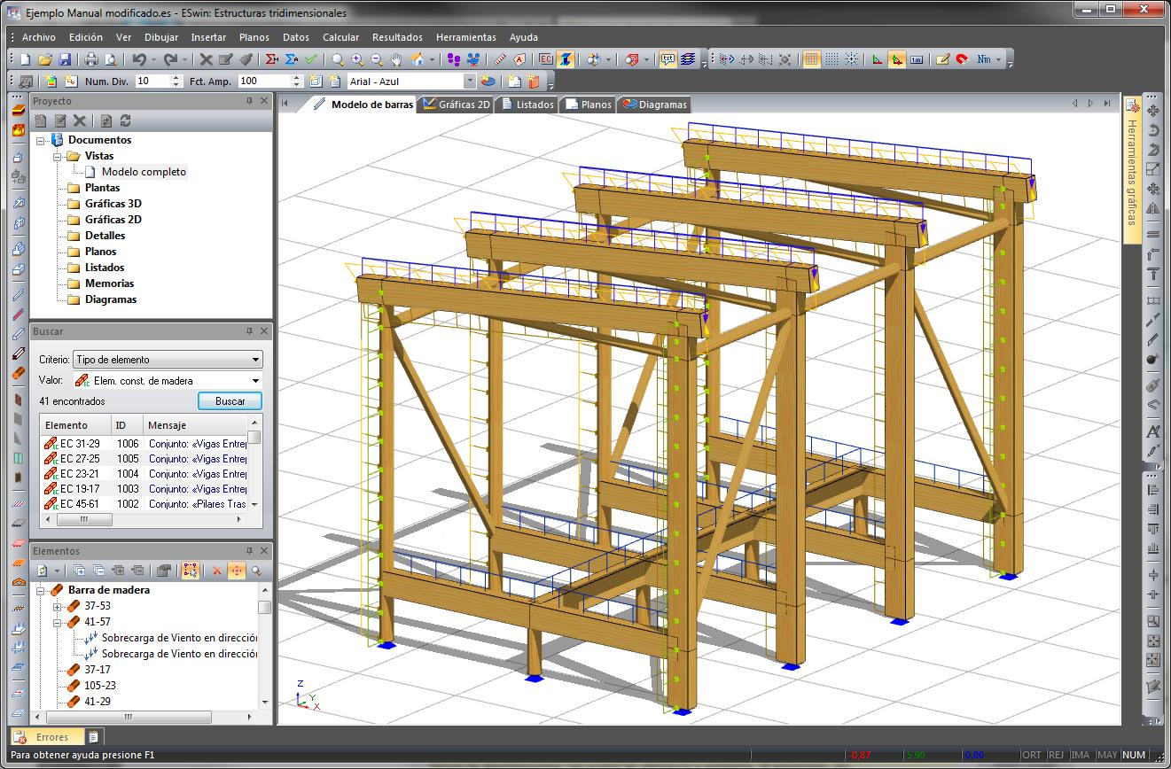 EMwin - Estructuras de madera
