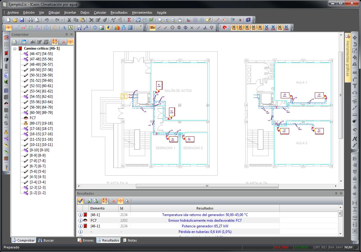 Nuevo entorno con numerosos paneles adicionales