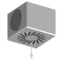 Difusor rotacional con plenum