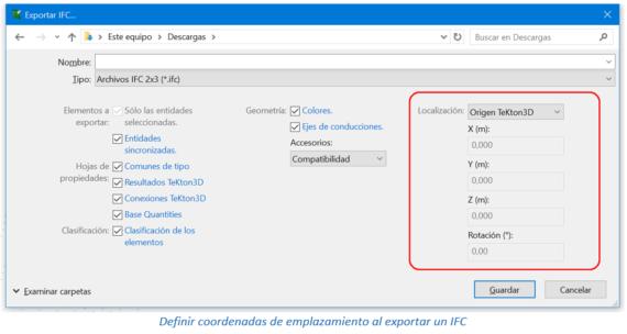 Exportación de ficheros IFC para coordinación