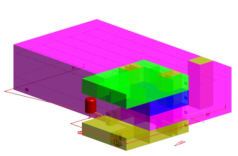 Visualización de zonas de rociadores