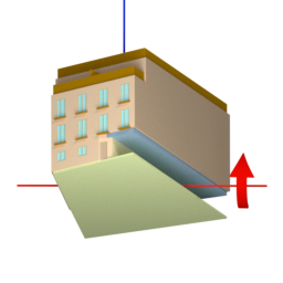 object pitch up