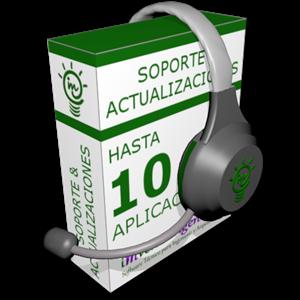 Imagen de Soporte y actualización de hasta 10 programas