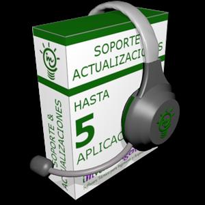 Imagen de Soporte y actualización de hasta 5 programas