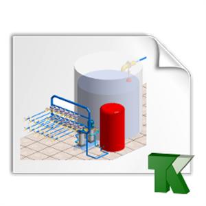 Imagen de Ejemplo TK-HS4: Batería de contadores