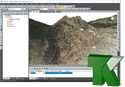 Imagen de TK-LIDAR. Nube de puntos